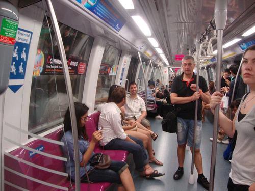 Вагоните на Сингапурското метро