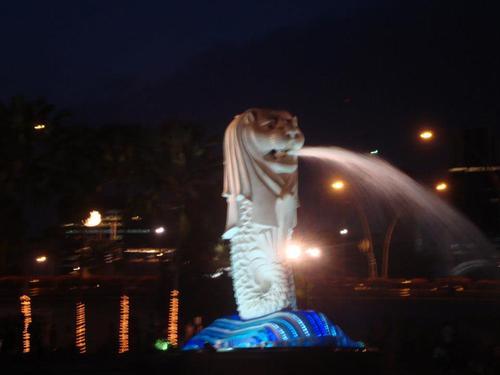 Символът на Сингапур – The Merlion