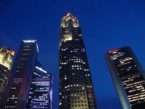 Сингапур нощем