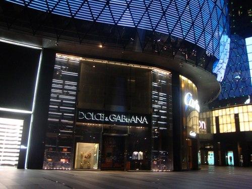 ION Orchard Mall – Dolce& Gabbana