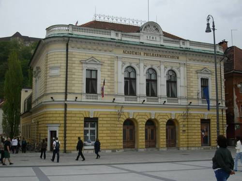 Любляна, Филхармонията