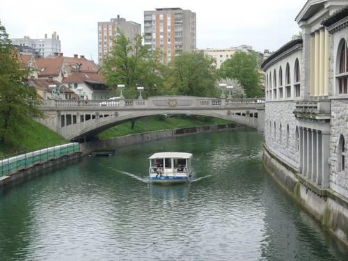 Любляна, корабчета по река Любляница