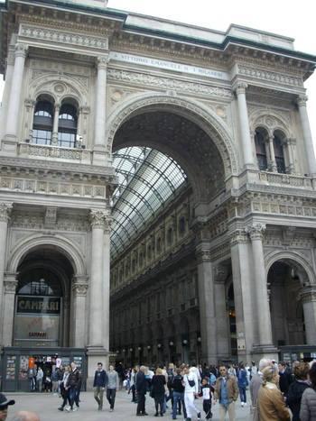 Милано, Пасажът на Виктор Емануил II