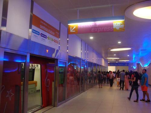 Началната станция на Sentosa Express във VIVOCITY MALL