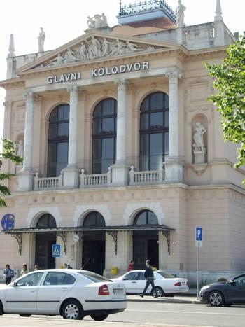 Загреб, Централната гара