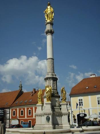 Загреб, Фонтанът с ангелите