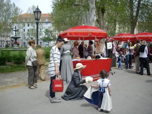 Загреб, празник в парка