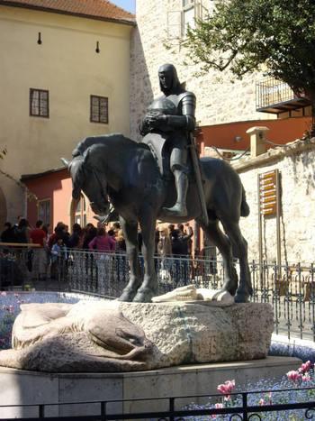 Загреб, Св. Георги със змията