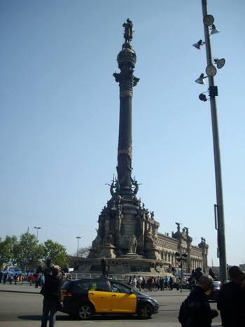 Барселона, Колоната на Христофор Колумб