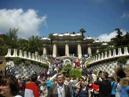 Барселона, парк Гюел