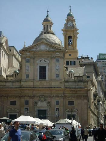 Италия, Генуа, църква