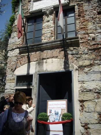 Италия, Генуа, къщата на Христофор Колумб