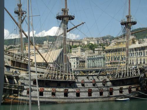 Италия, Генуа, пиратската галера