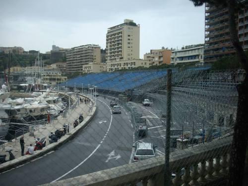 Монако, трибуните по трасето на ралито