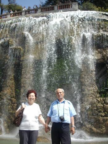 Ница, ние пред водопада
