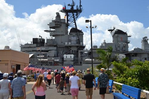 Хаваи, бойният кораб Мисури