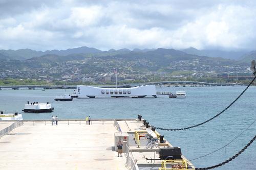 Хаваи, подводницата Аризона