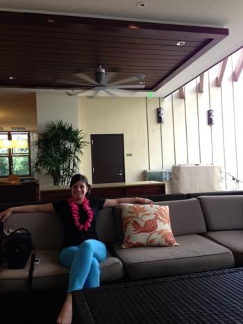 Хаваи, рецепцията на хотела