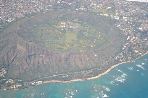 Хаваи, над Даймънд Хед