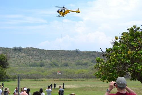 Хаваи, спасителната акция с хеликоптер