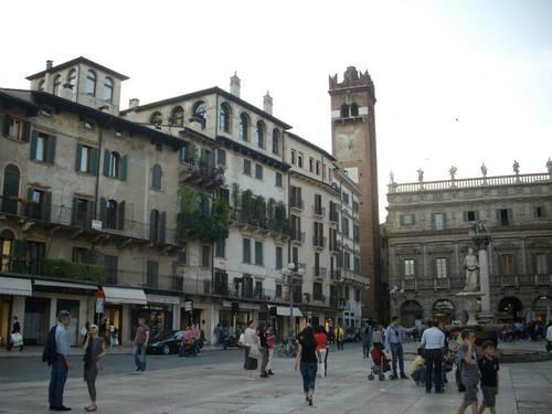 Италия, Верона, централния площад