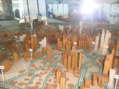 Макет на центъра на Куала Лумпур