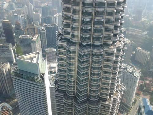 Поглед от 440 метра над земята