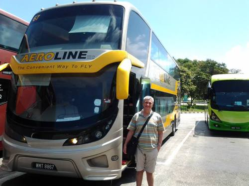 Автобусът Aeroline