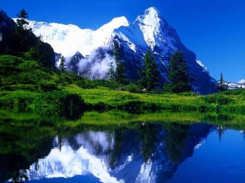 Живописните Швейцарски Алпи