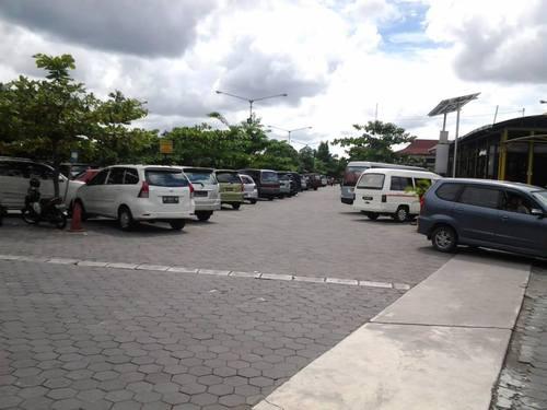 Паркинга на летището в Джокджакарта
