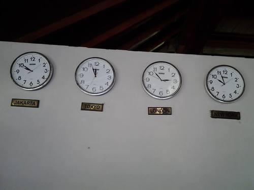 Времето  по света