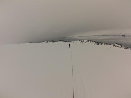 В свръзка с Васил Гурев през ледника Перуника