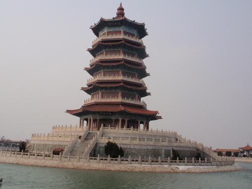 Пагодата в езерото