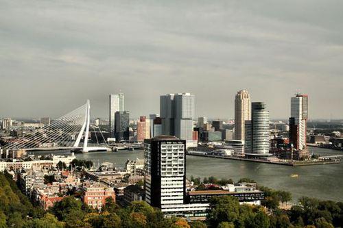 Мостът Еразмус, Ротердам