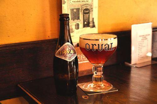 Le Poechenellekelder, бира Orval