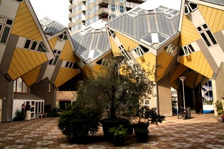 Кубичните къщи, Ротердам