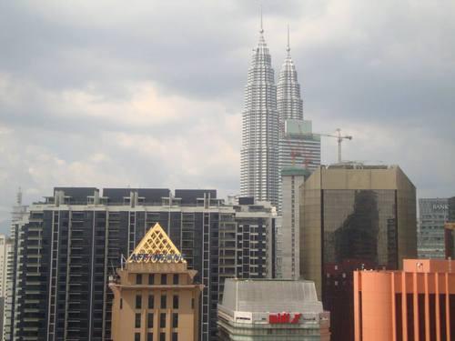 поглед към Куала Лумпур
