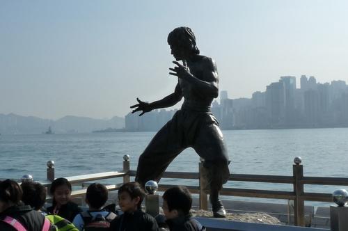 Хонг Конг, Авенюто на звездите, Брус Лий
