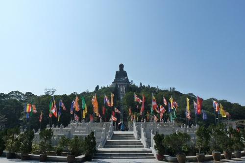 Хонг Конг, Лантау, статуя на Буда