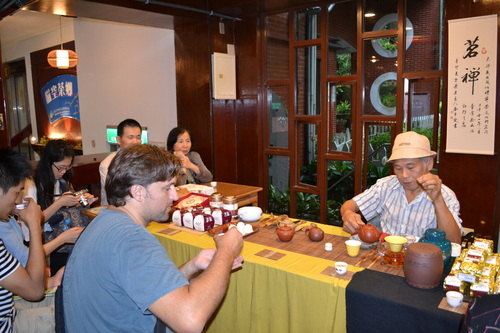 Тайпе, Маоконг, дегустация на чай