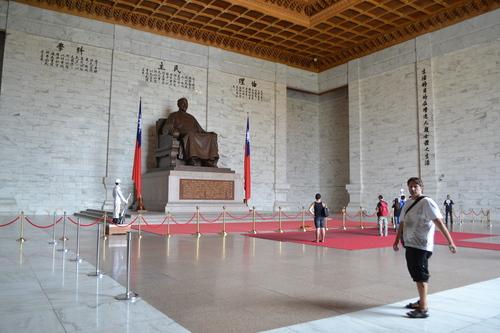 Тайпе, статуята на Чан Кай Шек