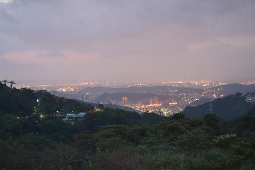 Тайпе, Маоконг, гледката към града.
