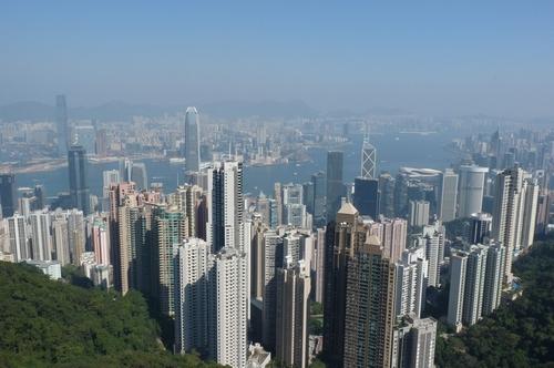Хонг Конг, гледката от връх Виктория