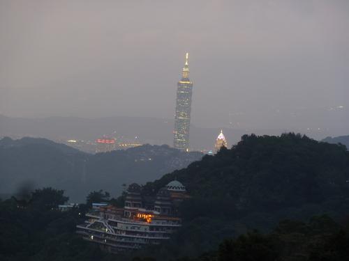 Тайпе, Маоконг, гледката към Тайпе 101.