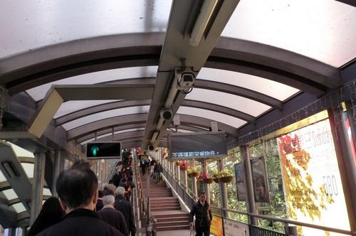 Хонг Конг, ескалатора
