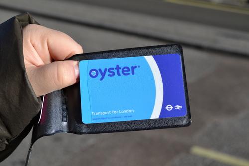 Лондон, Oyster card