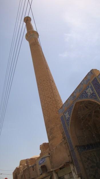 Иран, Исфахан, най-високото минаре в Исфахан - на джамията Али