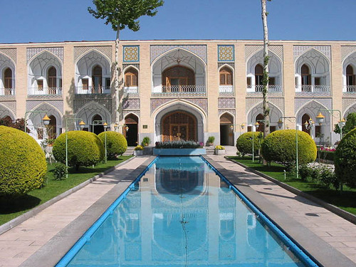 Иран, кервансарай Hotel Abassi