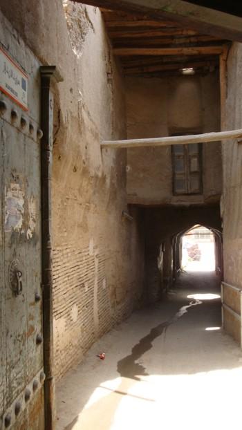 Иран, средновековен кирпичен тунел