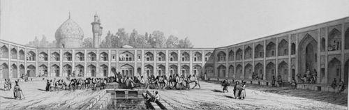 Кервансараят на шах Абас Велики в Исфахан